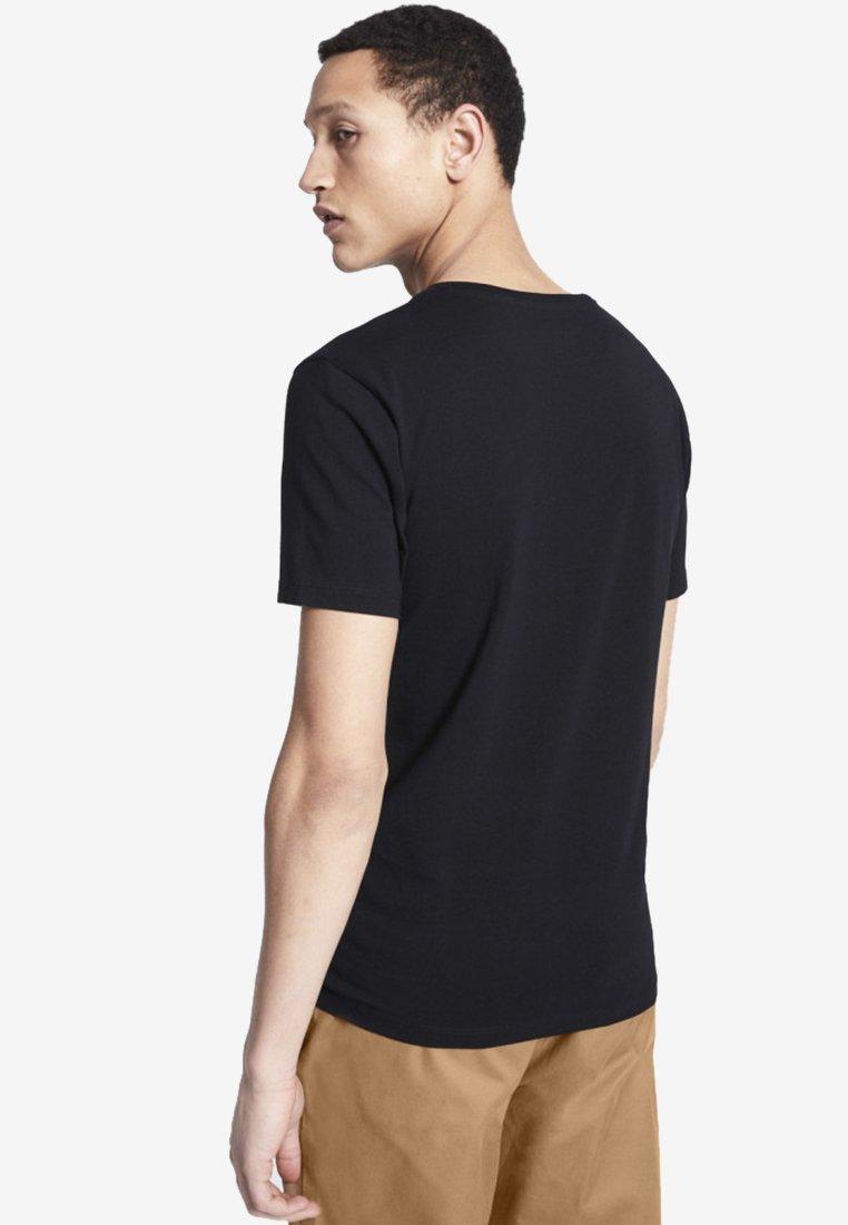 Night Addict FORCE - T-shirt med print - black/svart - Herrkläder 5XK6P