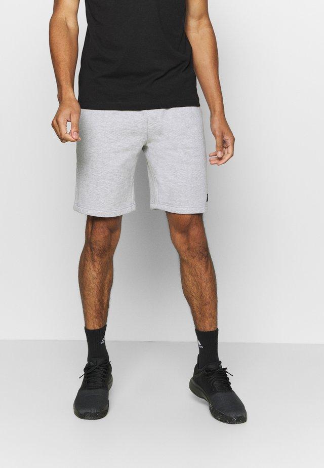 CENTRE - Sports shorts - light grey melange