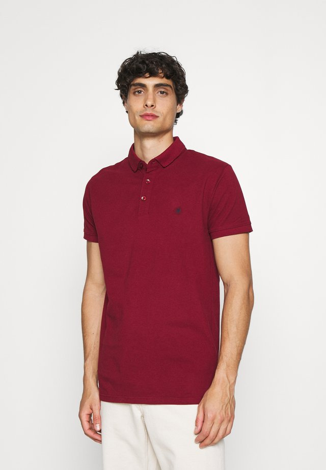 WARD EXCLUSIVE - Koszulka polo - bordaux