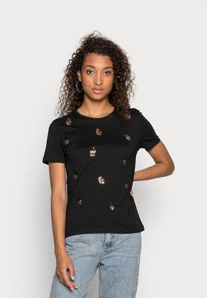 ONLKITA LIFE NUT BOX - T-shirt print - black