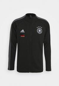 adidas Performance - DEUTSCHLAND DFB ANTHEM JACKET - Träningsjacka - black - 0