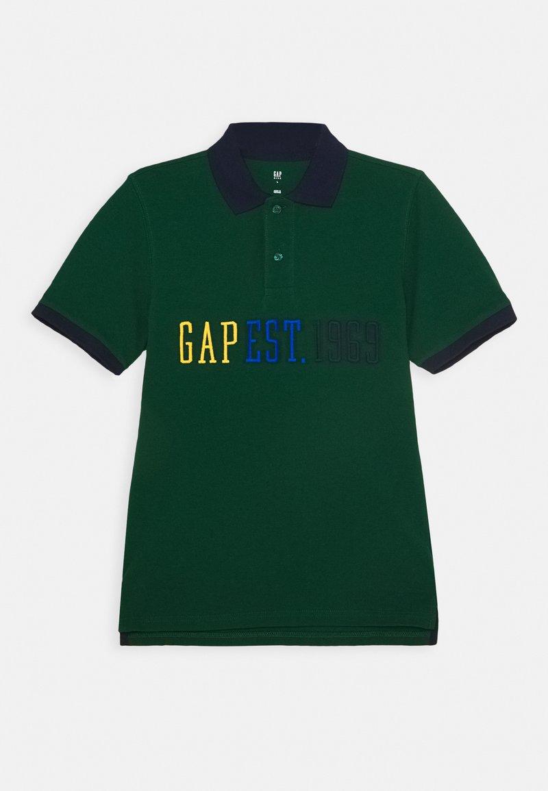 GAP - BOYS LOGO - Polo shirt - pine green