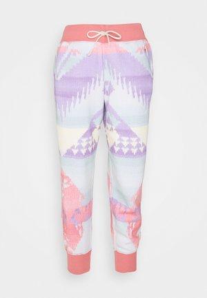 ANKLE ATHLETIC - Pantalon de survêtement - desert rose
