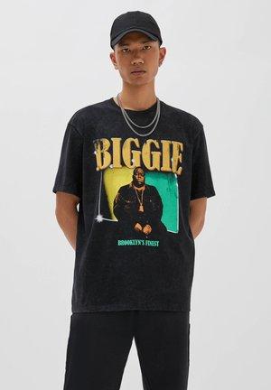 """SCHWARZES THE NOTORIOUS BIG """"BIGGIE"""" - Top - black"""