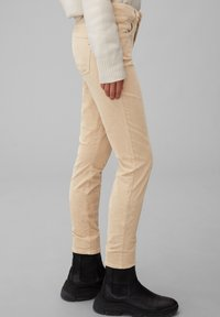 Marc O'Polo - ALBY SLIM - Trousers - vintage stone - 3