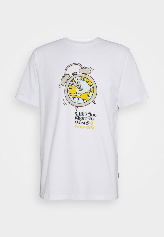 RENEW TEE UNISEX - T-shirt print - white