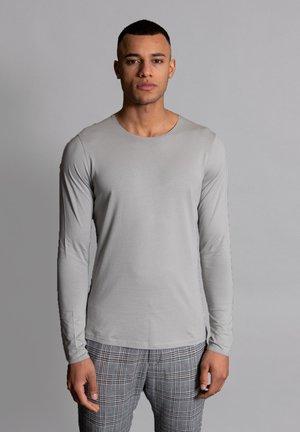 Long sleeved top - silber