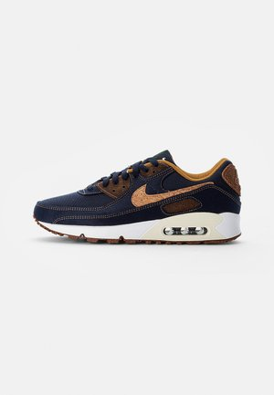 NIKE AIR MAX 90 - Sneakers - obsidian/wheat-coconut milk-white