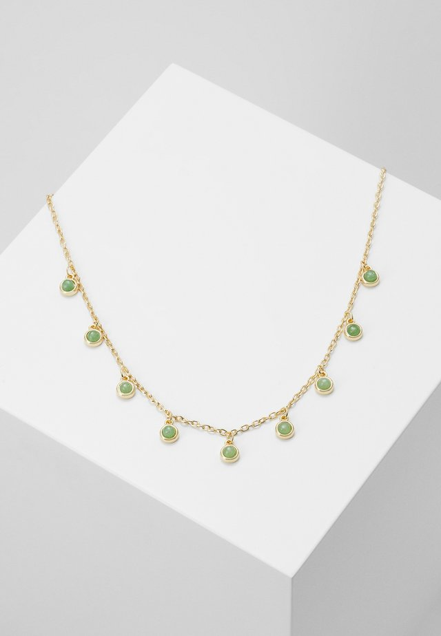 AGATHA CHARM NECK - Necklace - green