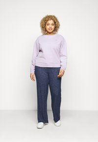 Evans - SOFT TOUCH PANT - Trousers - navy - 1