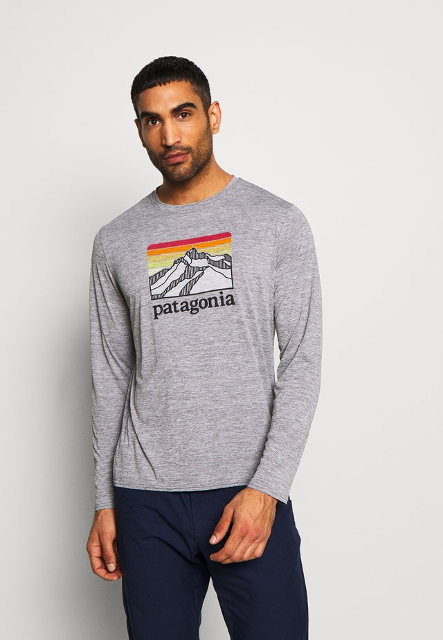 COOL DAILY GRAPHIC - T-shirt à manches longues -  feather grey