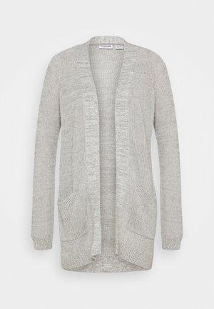 NMARIANNA CARDIGAN - Cardigan - light grey melange