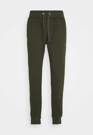 CENTRE TAPERED PANT - Tracksuit bottoms - rosin