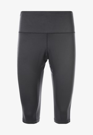 ISABELLE - 3/4 sports trousers - black