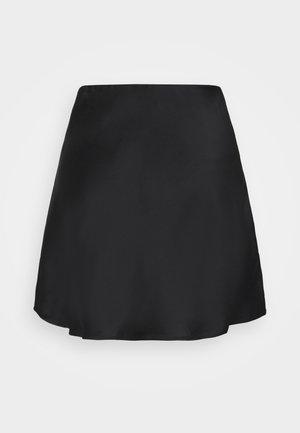JANE SKIRT - Minifalda - black