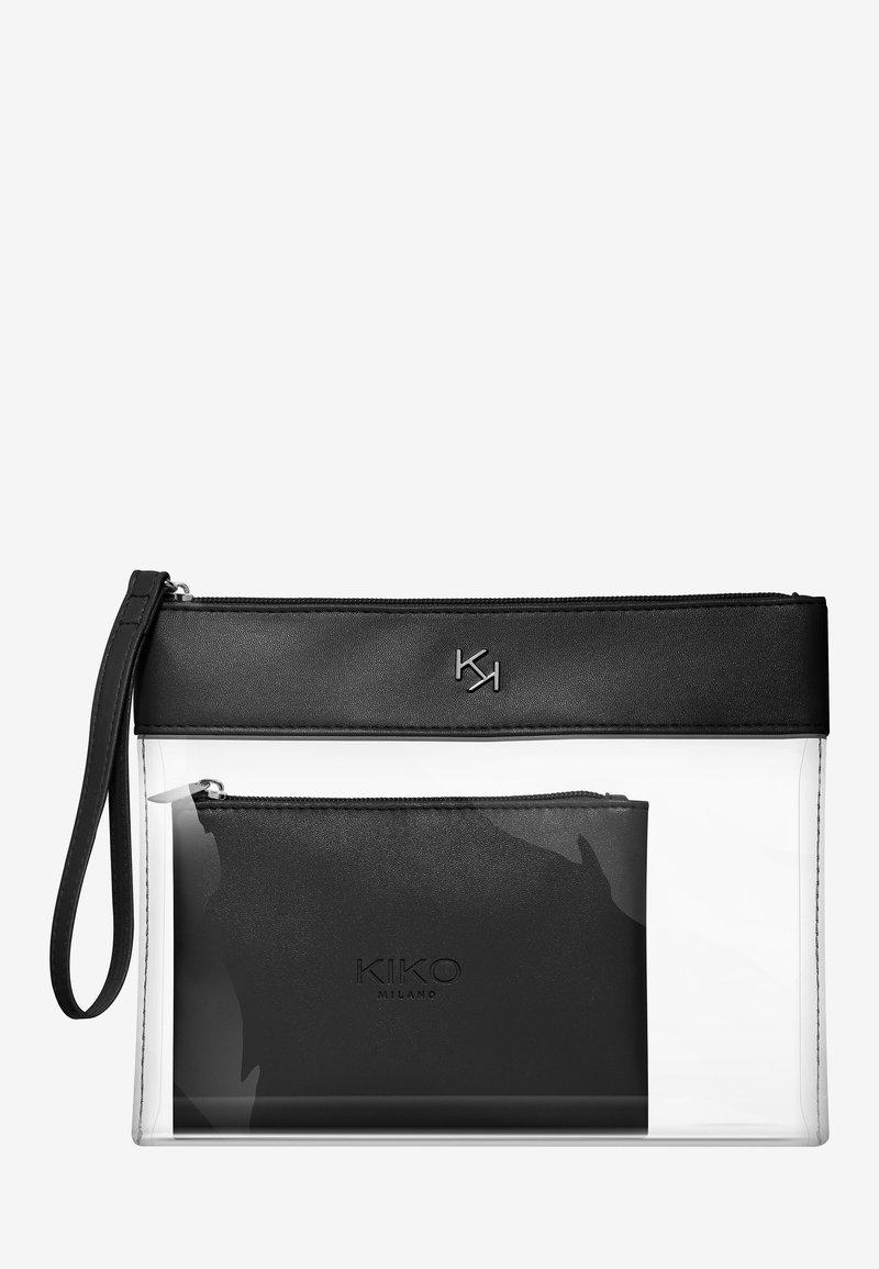 KIKO Milano - TRANSPARENT BEAUTY CASE - Makeup accessory - 001 black