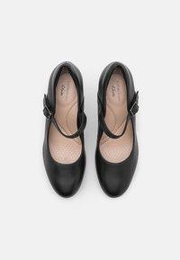 Clarks - AMBYR SHINE - Platform heels - black - 5
