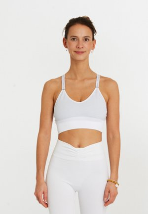 ASHTANGA - Sports bra - white