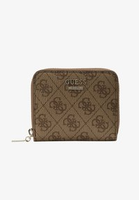 Guess - CATHLEEN SMALL ZIP AROUND - Wallet - brown - 1
