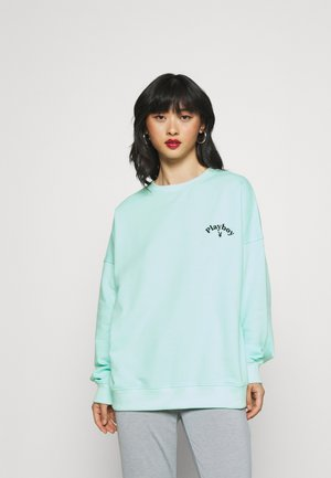 PLAYBOY LOGO OVERSIZED - Sweater - green