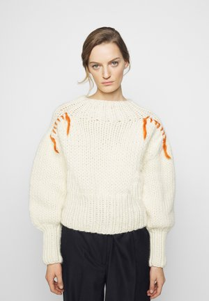 HAND HIGHLAND - Maglione - ivory