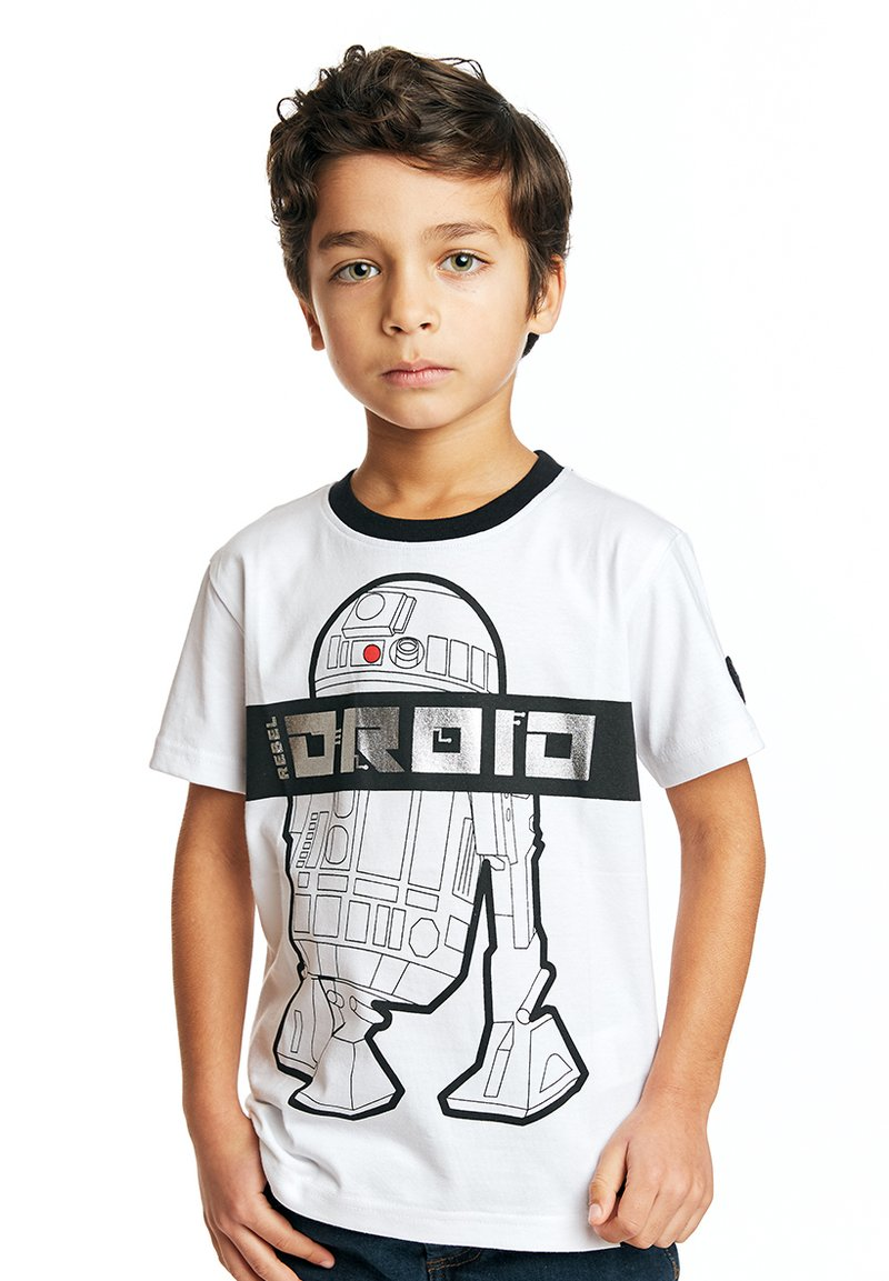 Fabric Flavours - STAR WARS REBEL DROID TEE - Print T-shirt - white