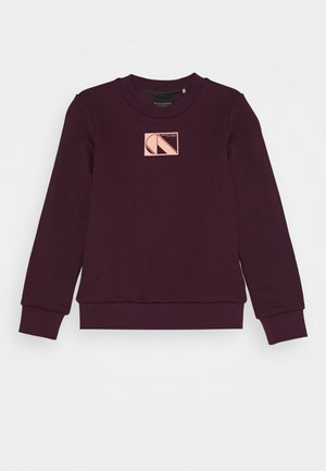 CLUB NOMADE BASIC - Sweater - burned plum