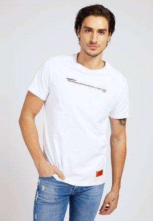 Print T-shirt - wit
