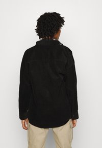 Monki - CONNY  SHIRT - Skjorte - black dark svart - 2