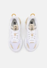 Puma - RS-X MONO  - Sneakers - white/team gold - 5