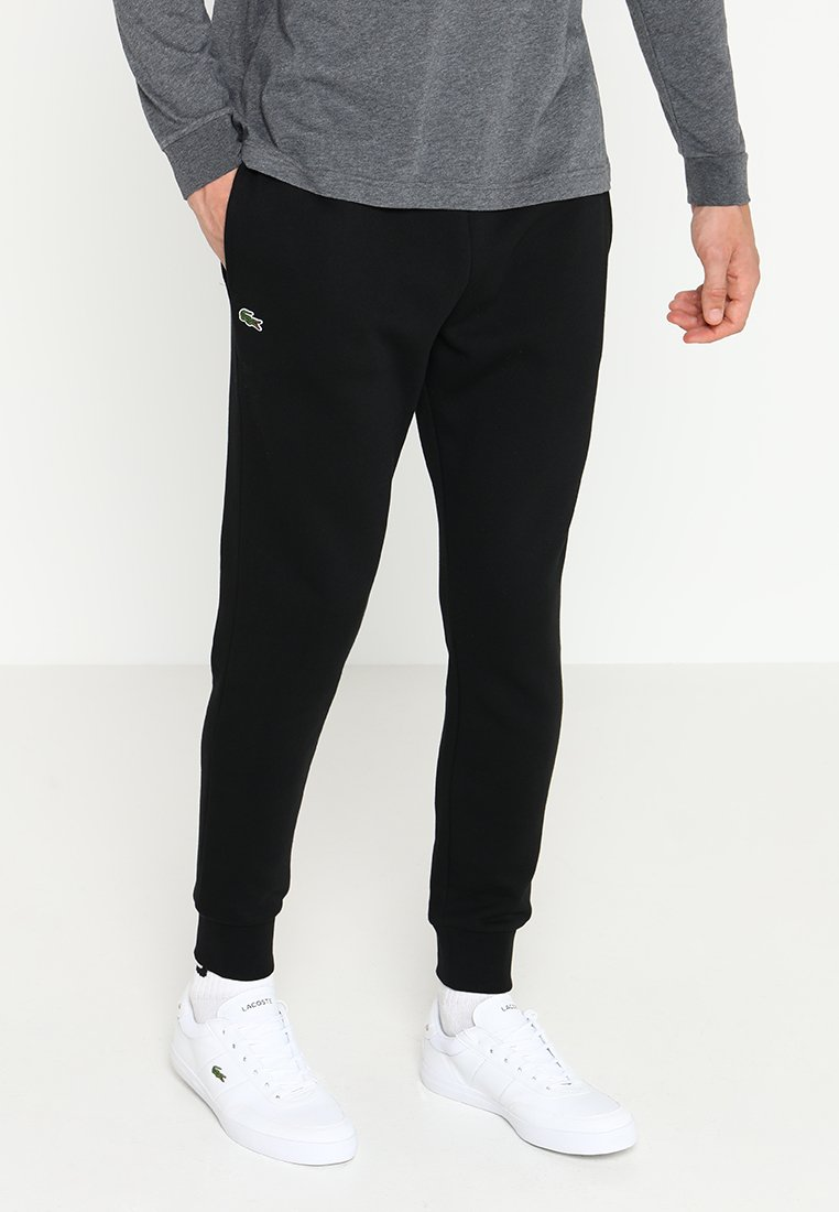 Lacoste Sport - CLASSIC PANT - Träningsbyxor - black
