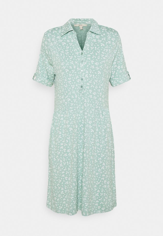 IT A LINE DRESS - Shirt dress - light aqua green