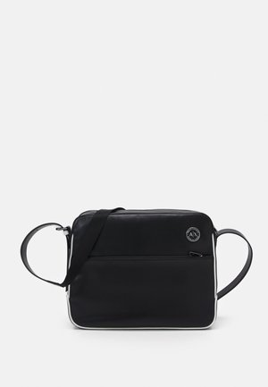 MANS CROSSBODY - Across body bag - black/white