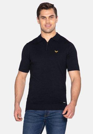 DAVIES - Polo shirt - dark navy