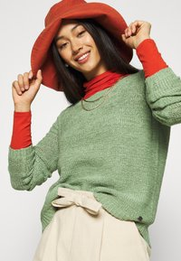 ONLY - ONLGEENA - Jumper - hedge green - 3