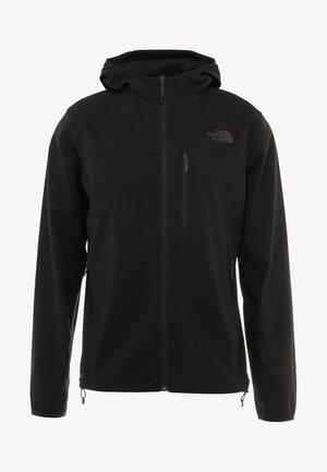 NIMBLE HOODIE - Soft shell jacket - black