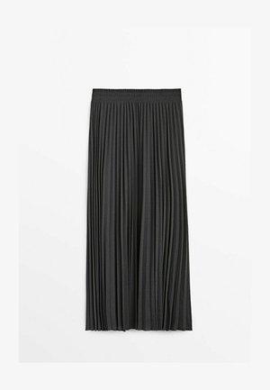 MIT STRETCHBUND  - A-linjekjol - dark grey