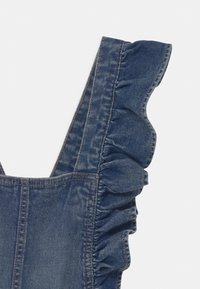 OVS - SALOPETTE WITH RUFFLES - Dungarees - blue - 3