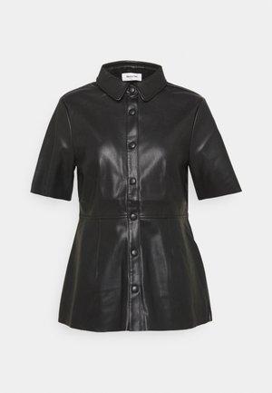 ILESSA - Button-down blouse - black