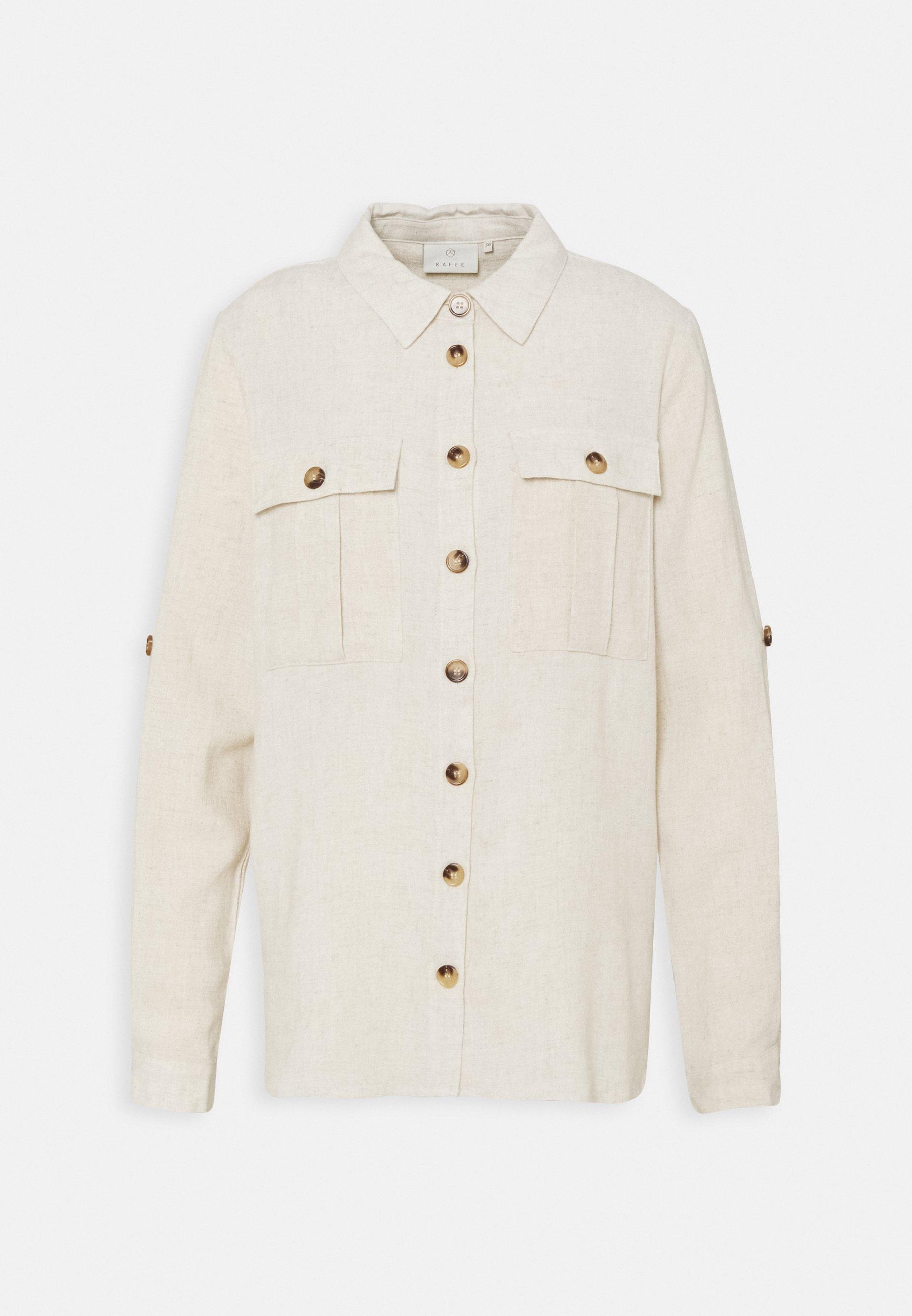 Women LINY  - Button-down blouse - light sand
