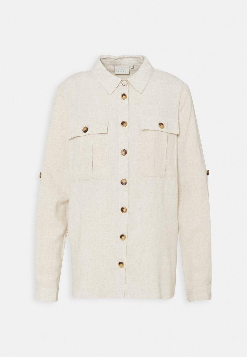 Kaffe - LINY  - Button-down blouse - light sand
