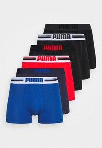 Puma - PLACED LOGO BOXER 6 PACK - Culotte - blue/black/red - 7
