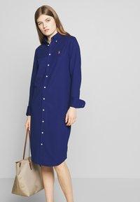 Polo Ralph Lauren - OXFORD - Shirt dress - holiday navy - 4