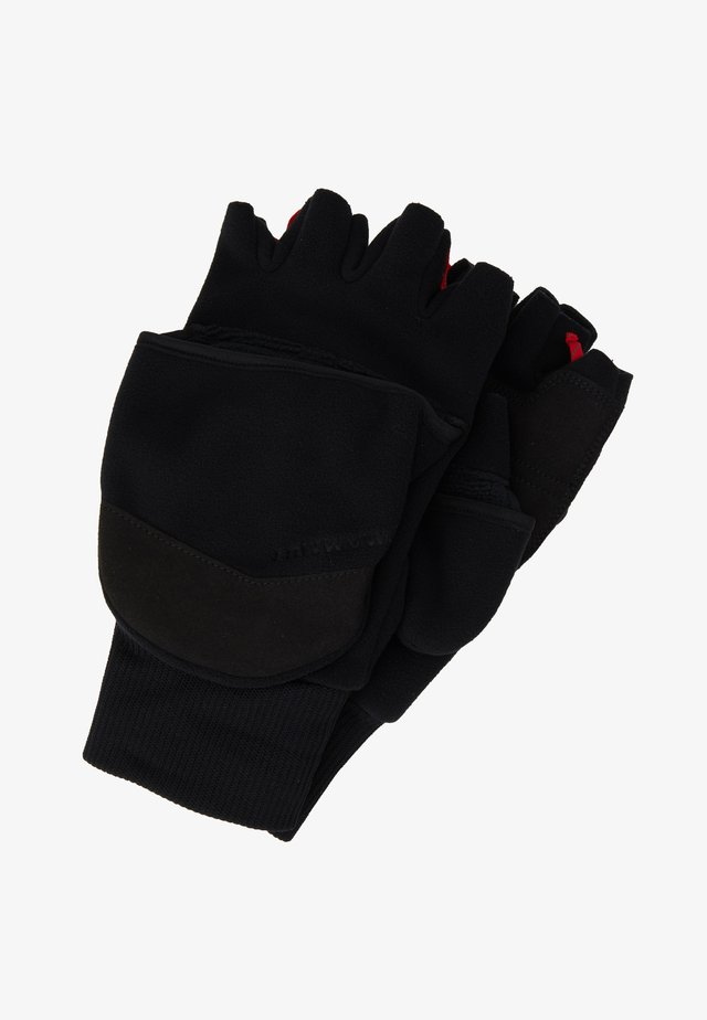 SHELTER GLOVE - Sormikkaat - black