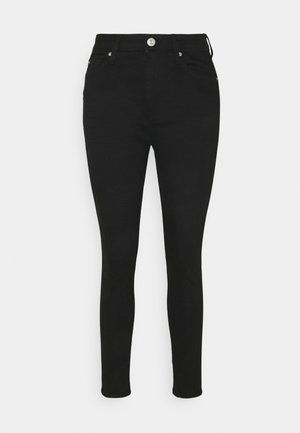 IVY SKINNY - Vaqueros pitillo - black denim