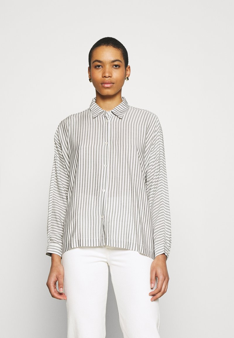 Carin Wester - BLOUSE BRIENNE - Button-down blouse - white