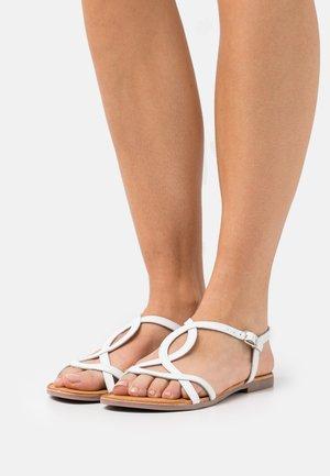 Sandały - blanco