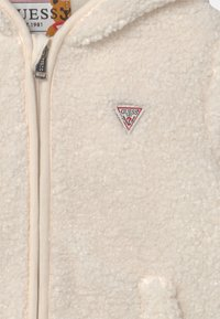 Guess - HOODED UNISEX - Winter jacket - salt white - 2
