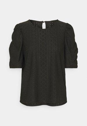 OBJRITTA - T-shirt basic - black