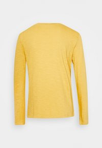 TOM TAILOR - TURNED NECK - Long sleeved top - california sand yellow - 1